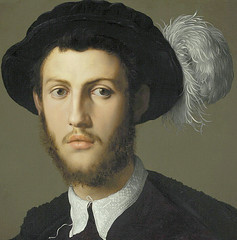 Bronzino - Portrait of a young man, detail (1550-55) (petrus.agricola) Tags: city portrait man art museum young nelson kansas atkins angelo bronzino agnolo