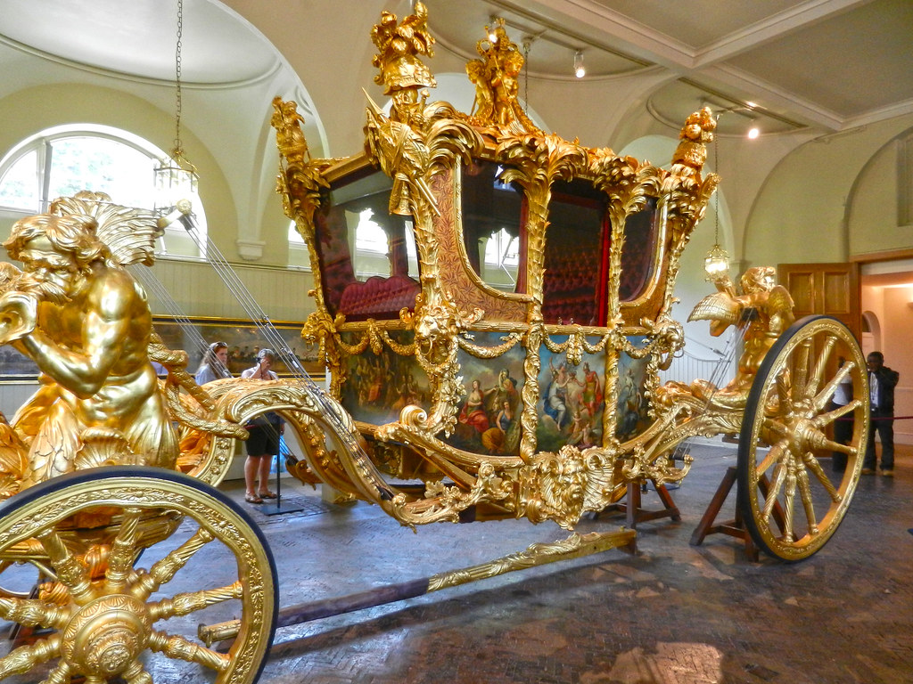 Gold State Coach - Front