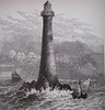 Skerryvore Lighthouse (Messent) Tags: sea lighthouse coast scotland poetry atlantic stevenson engraving poetryandpicturesinternational skerryvore poetryforall