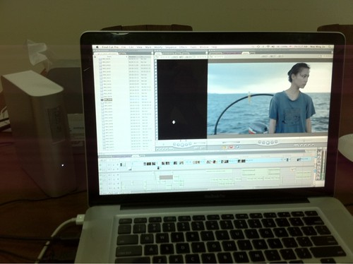 Editing GIRL IN WATER 2