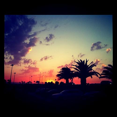 O céu as 21:30