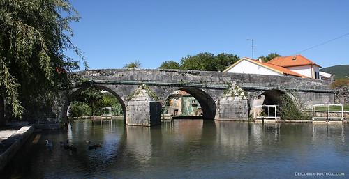 Romanesque bridge of Redinha