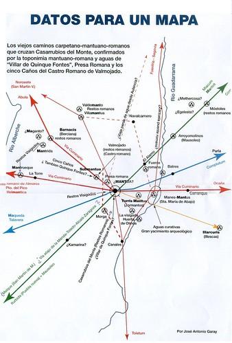 mapa de Mantua Prerromana