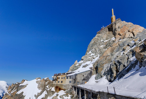 From Chamonix to Courmayer - Aiguille du Midi 29