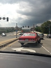 iPad camera test: Chevy Nova on K St NW