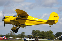 N9405H BEECH D17S 4803  - 110828 - Little Gransden - Alan Gray - IMG_0780