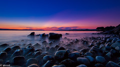 Sunset at the beach of rocks (@t.) Tags: longexposure sunset sky panorama beach water clouds sunrise germany landscape deutschland lights twilight agua rocks eau wasser niceshot sonnenuntergang sundown dusk stones wolken lindau pebbles steine alemania dmmerung bodensee acqua landschaft allemagne germania lichter badenwrttemberg abendlicht lakeconstance langebelichtung pfahlbauten unteruhldingen lacdeconstance zwielicht lagodicostanza colorphotoaward colorsinthesky lagodeconstanza canoneos7d landdebadewurtemberg bealivebetopbeseven blinkagain colorsinthewater
