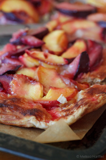 Rustic Peach and Plum Tart | Eyes Bigger Than My Stomach