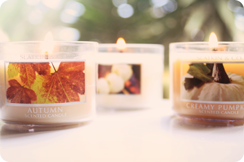 {september} purchased | candles