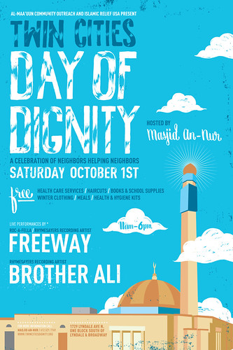 Twin Cities Day of Dignity poster