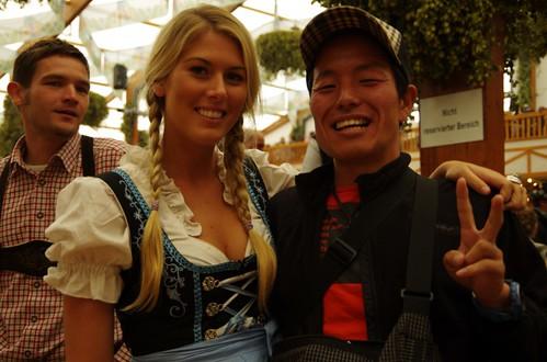 ドイツ美女〜!!