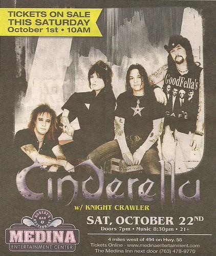 10-22-11 Cinderella @ Medina Ent. Ctr., Medina, MN0001
