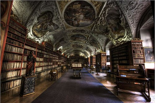 Biblioteca del Strahov Theological – Prague, Republica Checa