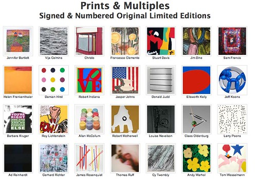 Blue-Chip Prints and Multiples For Sale