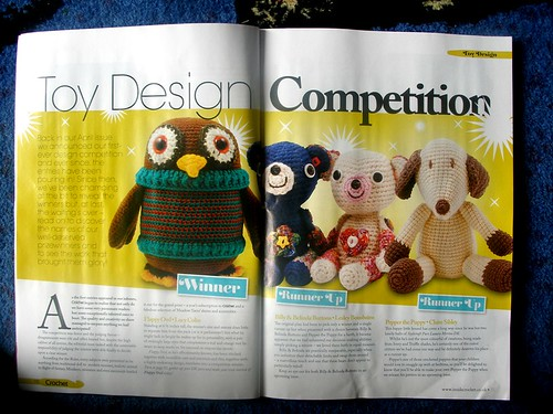 Billy & Belinda in Inside Crochet, issue 20