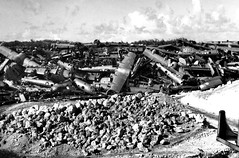 B-29 Dump (Saipan Pictures) Tags: world old field soldier army island war pacific crash wwii north rusty battle historic tropical ww2 battlefield northern destroyed tropics artifacts northfield airfield 1946 b29 marianas cnmi tinian northernmarianaislands