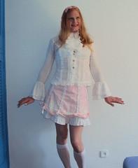 Sweet Lolita 7 (Brolita) (Felicia Colette) Tags: pink lace transvestite crossdresser sweetlolita tgurl brolita