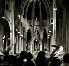 The Chant (bijoyKetan) Tags: new york apple church st religious big downtown cathedral ceremony chany times patricks sq prayers ketan canonef35mm14lusm bijoyketan