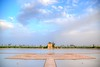 Jardins de la Ménara (cranjam) Tags: sky panorama clouds nuvole day cloudy basin morocco cielo marocco marrakech pavilion hdr menara bacino qanat menaragardens padiglione artificiallake lagoartificiale saadiangardenpavilion abdalmumin giardinidellamenara jardinsdelaménara