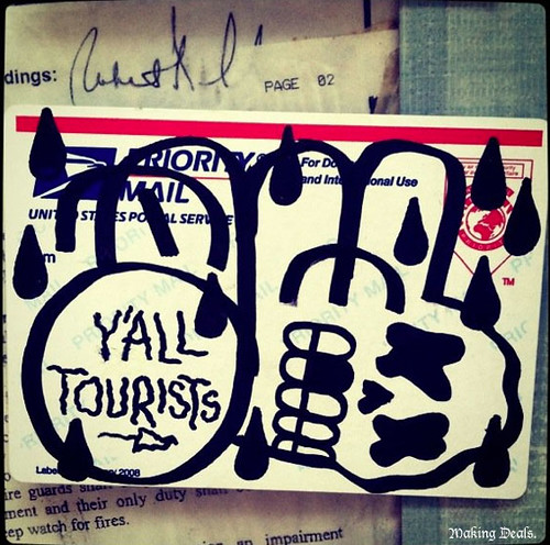 Y'all Tourists by Making Deals Zine