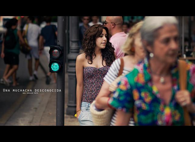 Una muchacha desconocida