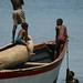 O dia inteiro na agua e barcos
