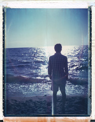 (jeffreywithtwof's) Tags: ocean light sun beach jeff water ma polaroid capecod group icon instant backs hutton expired 2008 440 eastham landcamera packfilm firstencounterbeach peelapart iduv roidweek jeffhutton rckenfigur jeffhuttonphotography bayroidweek2001 jeffreyhutton