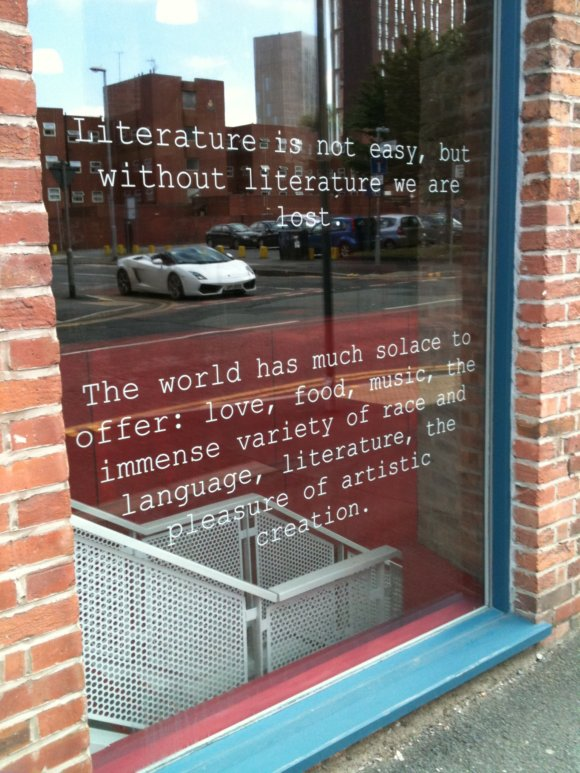 International Anthony Burgess Foundation, Manchester.