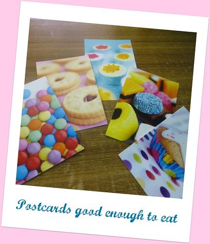 Foodie Postcards