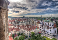 The sky over Prague 2 / Il cielo sopra Praga 2 (Fil.ippo) Tags: travel panorama lens landscape view post prague sigma praha praga card tele 1020 grandangolo viaggio hdr filippo cartolina sigma1020 abigfave d5000 platinumheartaward