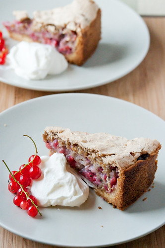 Red Currant Torte