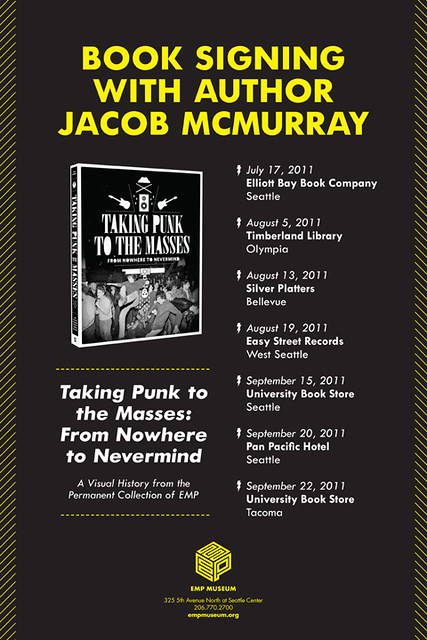 Taking Punk to the Masses Northwest Tour poster