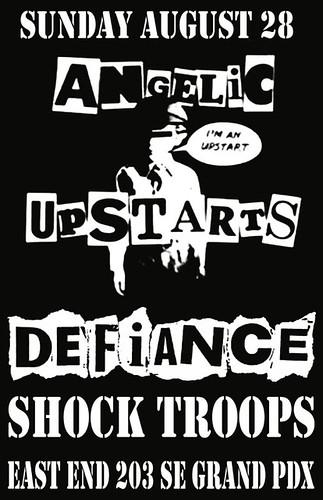 8/28/11 AngelicUpstarts/Defiance/ShockTroops