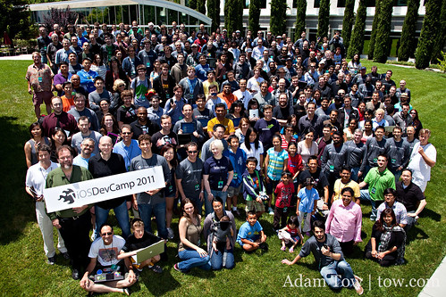 iOSDevCamp group photo