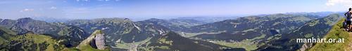 Panorama Kanisfluh Nord