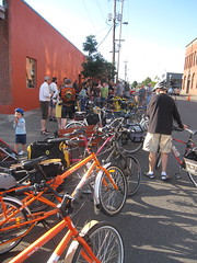 cargobike roll call_03 (METROFIETS) Tags: green beer bike bicycle oregon garden portland construction paint nw box handmade steel weld coat transport craft cargo torch frame pdx custom load cirque woodstove builder haul carfree hpm suppenkuche stumptown paragon stp chrisking shimano custombike cargobike handbuilt beerbike workbike bakfiets cycletruck rosecity crafted 4130 bikeportland 2011 braze longjohn paradiselodge seattlebikeexpo nahbs movebybike kcg phillipross bikefun obca ohbs jamienichols boxbike handmadebike oregonhandmadebikeshow nntma hopworks metrofiets cirqueducycling oregonmanifest matthewcaracoglia palletbike oregonframebuilder seattlebikeshow bikefarmer trailheadcoffee cargobikerollcall