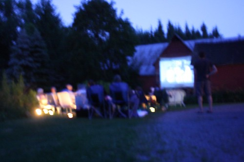 Barnside Movie at Silly Goose Farm