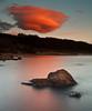 Funky Clouds (.Brian Kerr Photography.) Tags: longexposure sunset sky colour canon landscape scotland rocks scottish dumfriesandgalloway funkyclouds clatteringshaws eos5dmkii