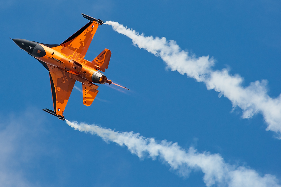 RIAT Dutch F16