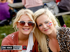 EF Summeranza 2011 - Ke$ha live! (thevoice.norge) Tags: uk party summer music london concert artist audience britain live crowd meeting f e ef anza kesha keha summeranza
