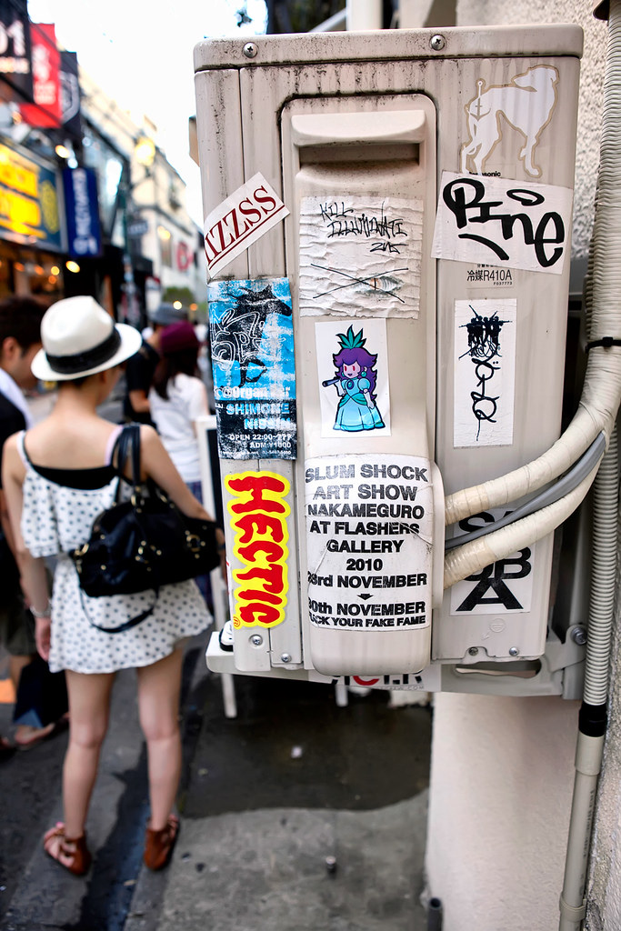 Street Art Stickers Harajuku