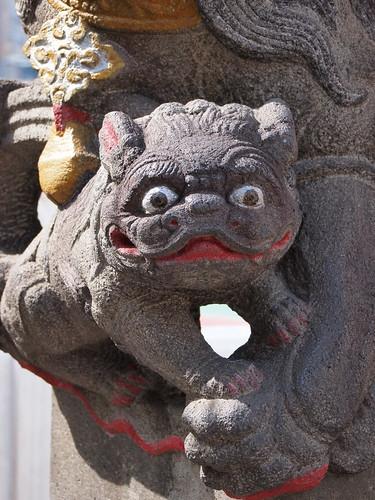 横浜中華街 関帝廟 狛犬
