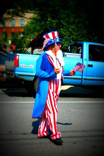 Old Timey Parade in Blue Ridge, GA