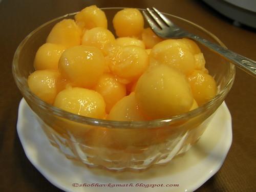 Musk Melon balls