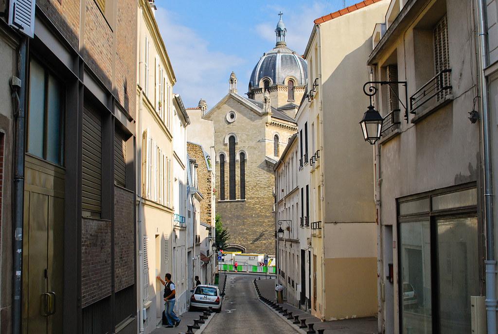 Le Dôme de l'église Saint-Anne-de-la-Butte-aux-Cailles