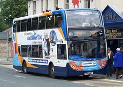 Stagecoach Southdown 15594 (GX10HBC) Chichester 20/7/11 (jmupton2000) Tags: market 400 avenue 700 stagecoach scania chichester enviro southdown 15594 coastliner 20711 gx10hbc