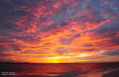 drama sunset