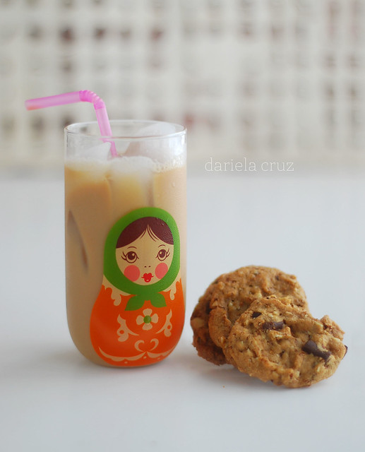 Iced Coffee and cookies