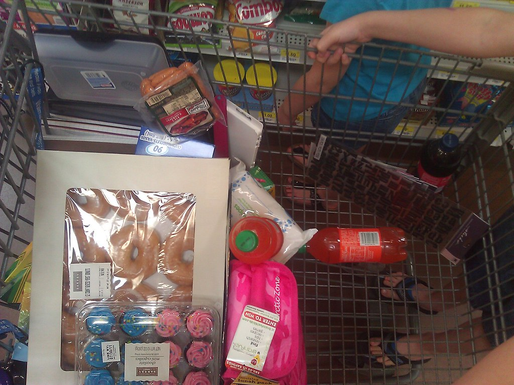 Not shown: school supplies