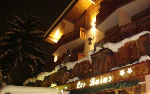 Hôtel Les Bains - Charme, authenticité et repas diététiques à Brides-les-Bains (France)